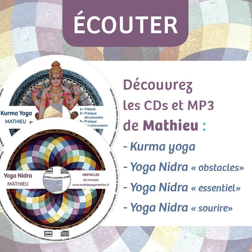 CD et MP3 Mathieu